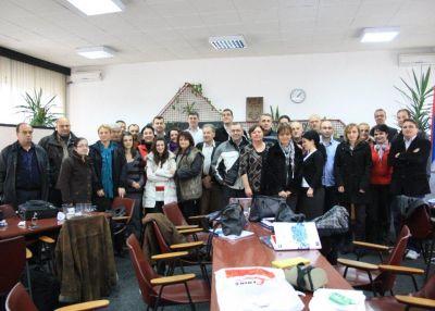 Одржана тродневна радионица за кориснике гранта у Врњачкој Бањи