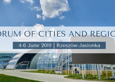 The project ''Textile Recycling for Sustainable Solutions -ReTex'' will be presented at the Forum of Cities and Regions in Poland